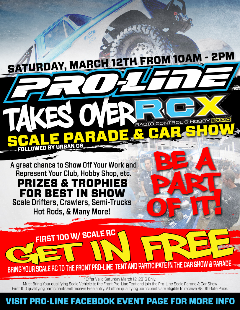 ProLine Scale Parade And Car Show Radio Control Expo Drones - The car pro show price